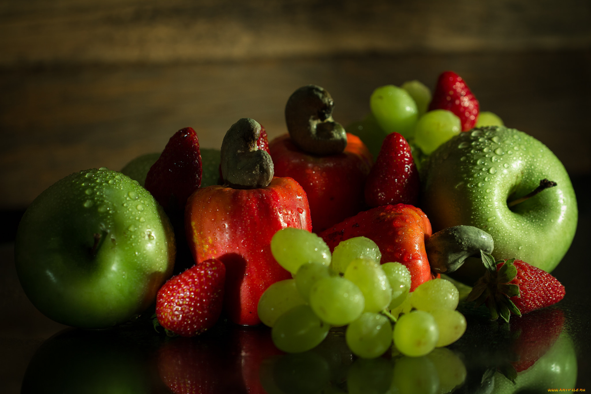 картинки на обои для рабочего стола фрукты подавать